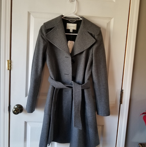 Banana Republic Jackets & Blazers - Banana republic belted wool coat NWT